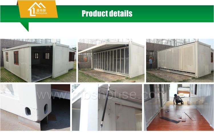 Casa de contenedor plegable ampliable de bajo precio proveedores fabricantes f bricas hucha - Precio casa contenedor ...